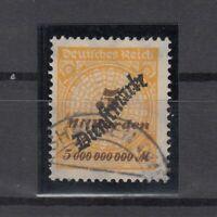 DA7875/ GERMANY REICH – OFFICIAL – MI # D85 USED – CV 135 $