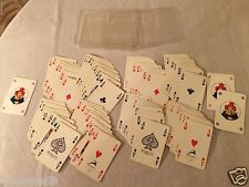 (2) Vintage Modiano Trieste Poker Oceanic Cruises Playing Cards Decks Italy