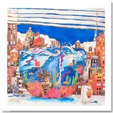 Linnea Pergola Fishbowl in NY City Canvas COA #48/295