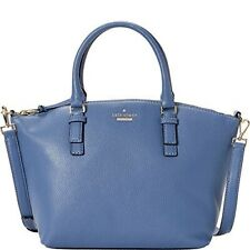 Kate Spade Jackson St Small Dixen  Constellation Blue Pebbled Leather PXRU7835