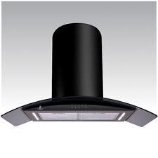 Premier Range 90 cm NERA ISOLA Cappa con illuminazione a LED H95.9B