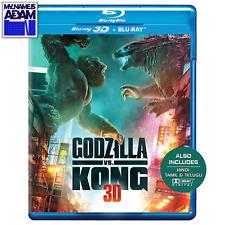 GODZILLA VS. KONG Blu-ray 3D + Blu-ray (REGION FREE) PRE-ORDER NOW!