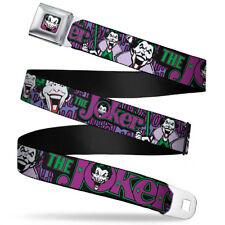 Seat Belt Buckle for Pants Men Women Kids DC Comics Joker WJK002