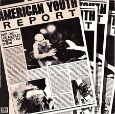 V/A AMERICAN YOUTH REPORT- CD RF7 CH3 Adolescents TSOL Shattered Faith Bad Relig