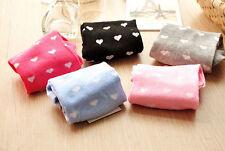 Candy Color Socks Chic Heart Boat Socks Ankle Socks Cute Short Invisible Socks C