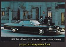 1972 BUICK ELECTRA 225 CUSTOM LIMITED 2-DOOR POSTCARD