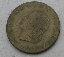 20 LIRE QUERCIA 1957 REPUBBLICA ITALIANA Nr. 572