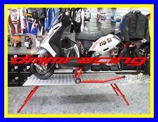 Cavalletto Scooter APRILIA SR 50 motore PIAGGIO pista race regolabile in altezza