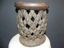 "Arts of Africa - Antique Bamileke  Stool - Cameroon - 12.5"" Height x 10"" Wide"