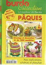 BURDA COLLECTION N°01 PAQUES BRICOLAGE ET DECORATION + DE 200 MODELES