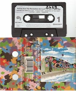 PRINCE cassette K7 tape AROUND THE WORLD IN A DAY