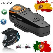 Intercomunicador Motocicleta Casco Bluetooth Auriculares Moto BT-S2 Interphone