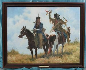"""HOWARD TERPNING """"THE TROPHY"""" SIGNED LIMITED EDITION CANVAS PRINT"""