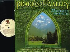 Peace In The Valley 22 Religious favourites VINYL LP RONCO UK RTL 2043 @N/M-VG