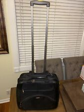 Samsonite 1910 Blk Rolling Carry On Laptop, Breifcase Retractable Handle Luggage