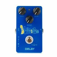 Delay Effects Pedal Guitar Caline CP-19 Blue Ocean True Bypass Pedal