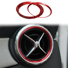 1pcs Air Outlet Decorative Ring For Mercedes Benz A Class A180 A200 A250 W176 Q