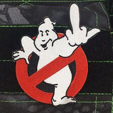 Tactical Outfitters - Ghostbusters Middle Finger Morale Patch - No ghost symbol