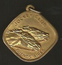Argentina Jockey Club Medal Horse Racing 1977