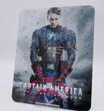 CAPTAIN AMERICA First Avenger - Bluray Steelbook Magnet Cover NOT LENTICULAR