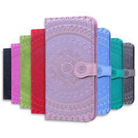 Mandala Magnetic Flip Leather Stand Wallet Case For Xiaomi Redmi 8A 7A Note 8 7