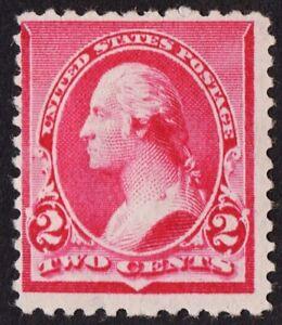"""US # 220a *MINT OG H* { CAP ON LEFT """"2"""" VAR } BEAUTY FROM 1890 SERIES CV$ 150.00"""