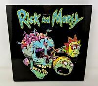 Rabbit Tanaka Adult Swim Rick & Morty High Gloss Wall Art Fiberboard Skull FP20