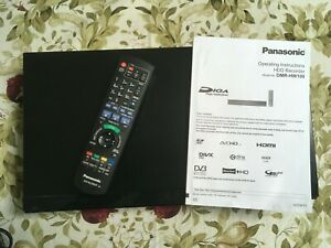 Panasonic DMR HW100 HDD hard disk Recorder. Record 2 Freeview channels + watch!
