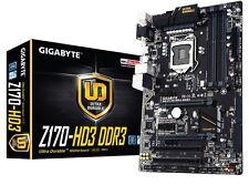 Gigabyte GA-Z170-HD3 DDR3 Motherboard CPU i3 i5 i7 LGA1151 Intel Z170 CrossFire
