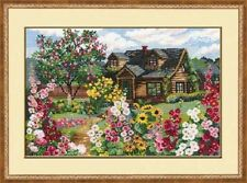 "Counted Cross Stitch Kit RIOLIS 978 - ""Flowering Garden"""