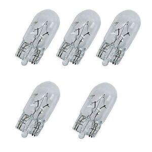 Set Of 5 For Mercedes Benz 300SL ML55 Jahn Bulb 12V-2W for Dashboard Instruments