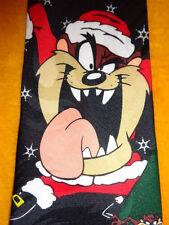 LOONEY TUNES ~ CHRISTMAS XMAS ~ MENS TIE NECKTIE ~ TAZ & HIS ELF ARMY !!!