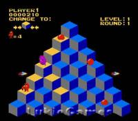 Q-Bert Q*Bert - Classic NES Nintendo Game