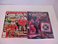 Christmas Cross Stitch Magazines 2 Total Better Home and Gardens Good Condition