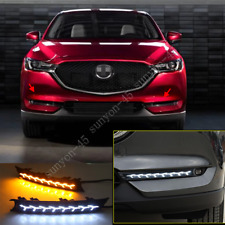 For Mazda CX-5 2017 2018 2019 LED Daytime Running Light DRL Front Fog Light 2PCS