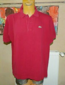 POLO LACOSTE  TAILLE 7