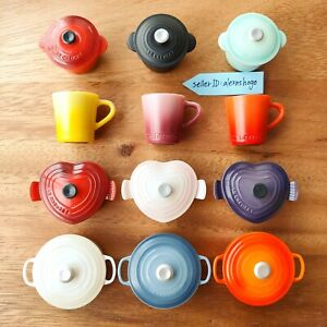 Le Creuset Kitchen Magnet Miniature 2021 Dydo Beverage Novelty Complete Set NEW