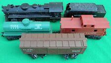 Vintage Marx 666 Die Cast Toy Steam Train Locomotive