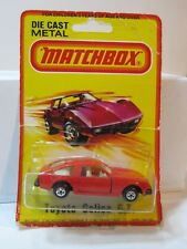 Matchbox Super Fast Carded  Red TOYOTA CELICA G.T. XX Working Parts H.K. 1973  X