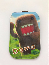 UK New Cute Domo-Kun Brown Bear Phone Case Cover Pouch Accessory Bag