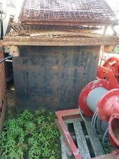 300 Gallon Waste Oil/Fluid Carbon Steel Storage Tank 42'' x 36'' x 42'' Tall