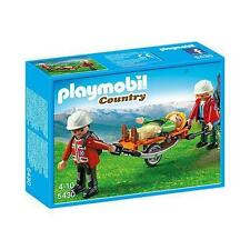 PLAYMOBIL 5430 Mountain Rescuers with stretcher (BRAND NEW)