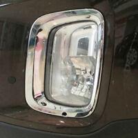 Chrome Front Foglight Front Foglamp Cover Trim For KIA Sorento 2013 2014 2015