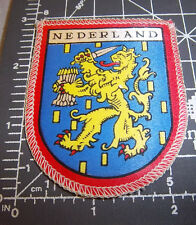 Nederland (Netherlands) coat of arms embroidered Patch, great collectible