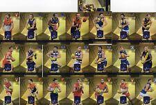 2017 AFL SELECT CERTIFIED ALL AUSTRALIAN FULL SET 22 CARDS.
