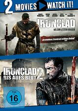 2 DVDs * 2 MOVIE - IRONCLAD 1 & 2 # NEU OVP §
