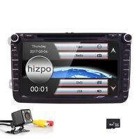 """8"""" Car Head Unit GPS DVD MP3 Player CANbus Free Camrea for VW SEAT SKODA"""