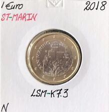 SAINT-MARIN - 1 Euro 2018 // Pièce de Monnaie Neuve