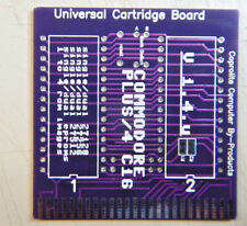 Commodore Plus/4 C16   Universal Bare Cartridge Board