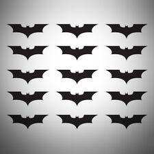 15x Batman Caballero de la noche Calcomanías Pegatinas Coche Furgoneta Portátil Móvil Ventana 50mm JDM